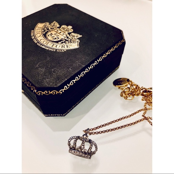 Juicy Couture Jewelry - Juicy Couture crown necklace